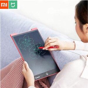 Image 5 - 12 inchs/10 inch Xiaomi Mijia Wicue LCD Viết Máy Tính Bảng Chữ Viết Tay Bảng Vẽ Điện Tử Tưởng Tượng Đồ Họa Miếng Lót cho Bé văn phòng
