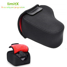 Неопреновый мягкий чехол, водонепроницаемая сумка для камеры Nikon D3500 D3400 D3300 D3200 D3100 D5600 D5500 D5300 D5200 D5100 с объективом 18 55 мм