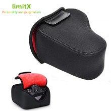 Neopren yumuşak kılıf su geçirmez kamera çantası Nikon D3500 D3400 D3300 D3200 D3100 D5600 D5500 D5300 D5200 D5100 18  55mm lens