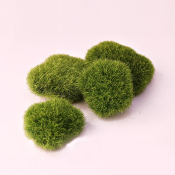 Artificial Mossy Stone Plant Wall Decoration Materials Fake Moss Fake Stone Shooting Props Micro Landscape More Meat Flower Pot image