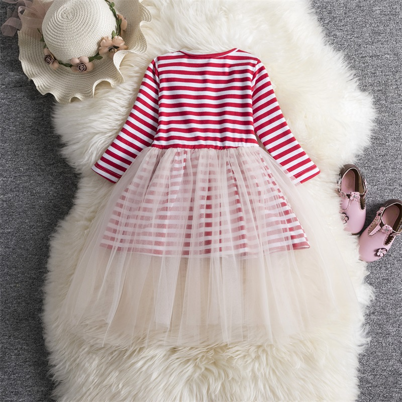 He62a41bdd6de462f99e2c780054f7979M Xmas Winter Autumn Girl Dress Children Clothes Kids Dresses For Girls Party Dress Long Sleeve Knitted Sweater Toddler Girl Dress