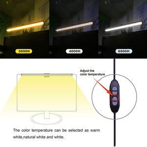 Image 4 - อลูมิเนียมUSBโคมไฟตั้งโต๊ะLed Monitor Nonริบหรี่ 5Vคอมพิวเตอร์หน้าจอป้องกันOfficeทนทาน 5Wปรับ