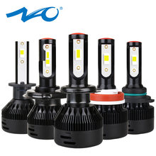 NAO h7 h4 LED h1 h11 turbo led HB4 Nebel lampe h8 hb3 h13 12V licht für auto h9 h27 881 880 9004 9006 9005 9007 6000K Auto scheinwerfer