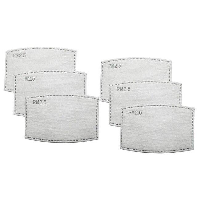 100PCS PM 2.5 Filter Mouth Paper Face Mouth Masks Dustproof Mask Protective Cover Masks Set Heath Care DHL/FEDEX Express 3