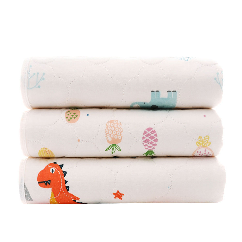 Waterproof Mattress Cartoon Changing Pad Floor Mats Cushion Reusable Diaper Baby Changing Mat Infants Portable Foldable Washable