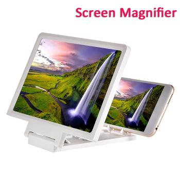 Mobile Phone Screen Magnifier 8.2 Inch Eyes Protection Display 3D Video Screen Amplifier Folding Smart Phone Bracket 1
