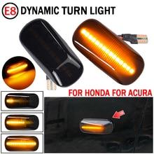 LED Side Marker Lights Turn Signal lamp For Honda CRV Accord Civic City Fit Jazz Stream HRV S2000 Odyssey Integra Acura RSX NSX