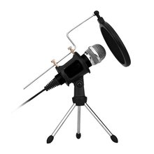 Professional Mini Microphone Condenser For Computer Laptop Pc Usb Plug + Stand Studio Podcasting Recording Microphone tyless usb plug computer tabletop omnidirectional condenser boundary conference microphone for recording gaming skype voip call