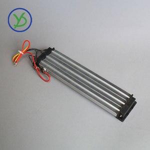 Image 4 - Calentador Industrial de 2500W y 220V CA CC, calentador de aire de cerámica PTC, calentador eléctrico con aislamiento de 330x76mm con protector de termostato