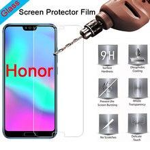 Vidro temperado para honra 10i 10 lite 9 luz protetor de tela telefone vidro em huawei honra 20 pro 30 lite 30i 20i vidro duro
