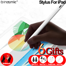 Stylus Pen for iPad Pro 11 12.9 2020 2018 2019 Air 4 7th 8th Touch Pen for Apple Pencil 2 1 iPad Pencil with Palm Rejection