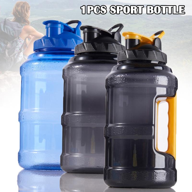Бутылка для воды пластиковая с откидной крышкой, 2,5 л, без бисфенола А