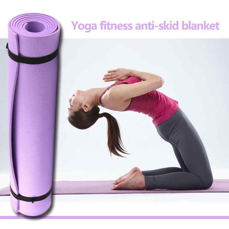 Tapis de Yoga EVA 1830*610*6mm tapis antidérapant tapis d'exercice de sport de gymnastique Pilates pour débutant tapis de gymnastique environnementale