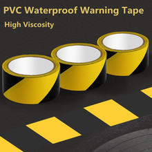 ZUIDID Universal PVC 1pc 4.8cm X 18M Practical And Sturdy Zebra Color Sign Traffic Warning Road Tape