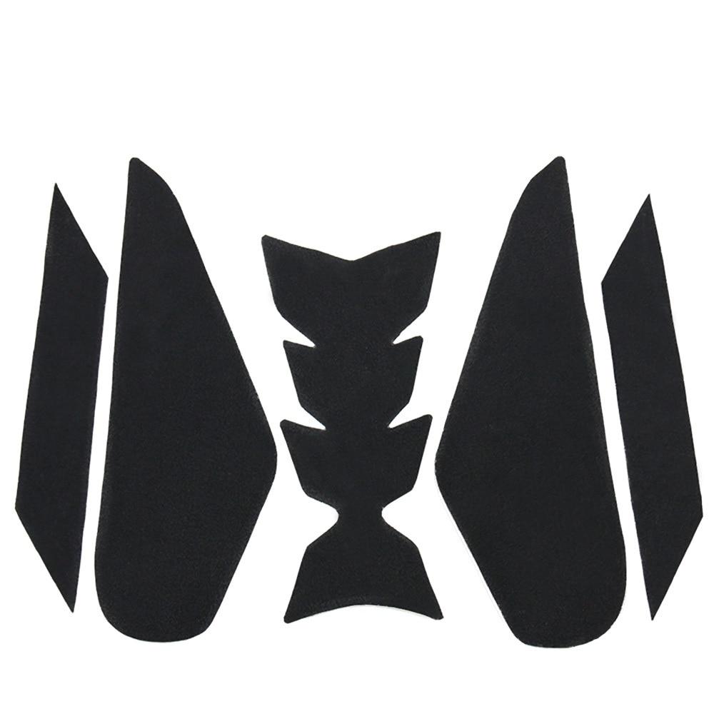 Motorcycle Tank Cushion Side Protector Tank Slip Sticker Fish Bone Sticker Decals For Kawasaki NINJA400 NINJA 400 2018