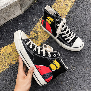 Image 5 - Diwaniya 2019 Mannen Skateboard Schoenen Herfst Hip Hop Canvas Sneakers Heren Lace up Athletic Sport Schoenen Zapatillas Hombre Deportiva