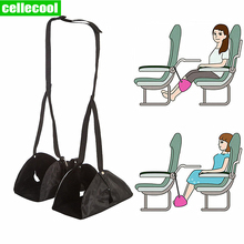 Travel Accessories Footrest Hammock Foot Rest Portable Travel Footrest Flight Carry-on Foot Rest Office Feet Rest Leg Hammock fashion lady shoulder bag short trip design soft knit bag reusable casual ladies beach handbag luxury high capacity open pocket