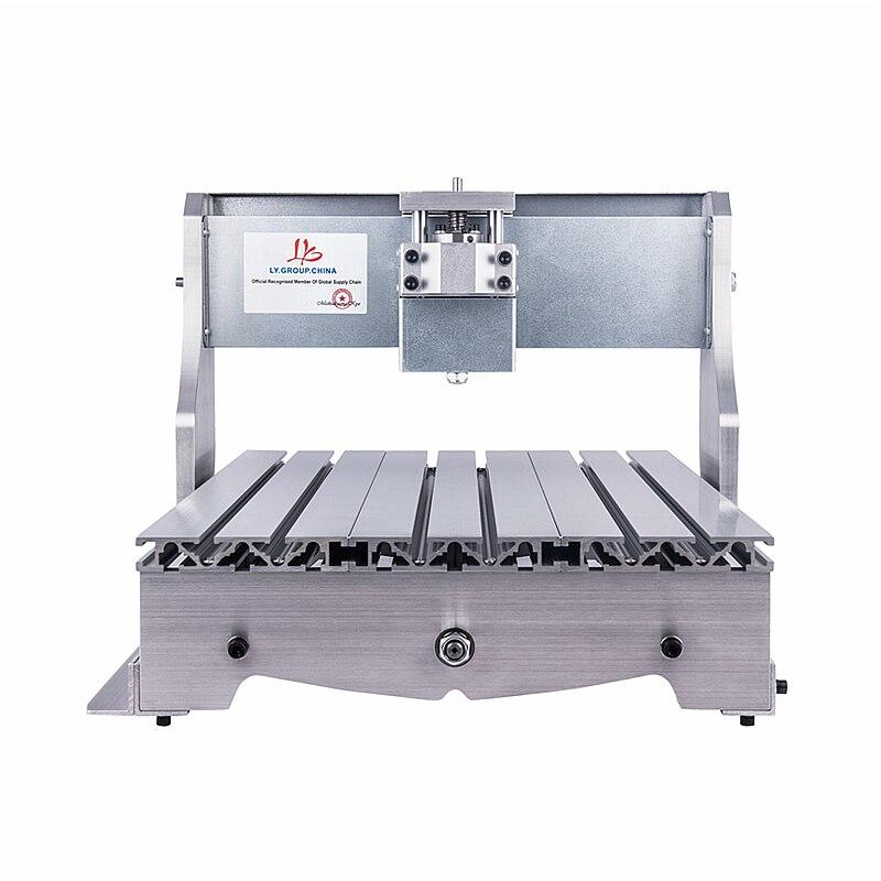 Mini 3040 CNC Rahmen der Graveur Fräsen Maschine mit Motor Trapez Ball schraube für wählen-in Holzfräsemaschinen aus Werkzeug bei title=