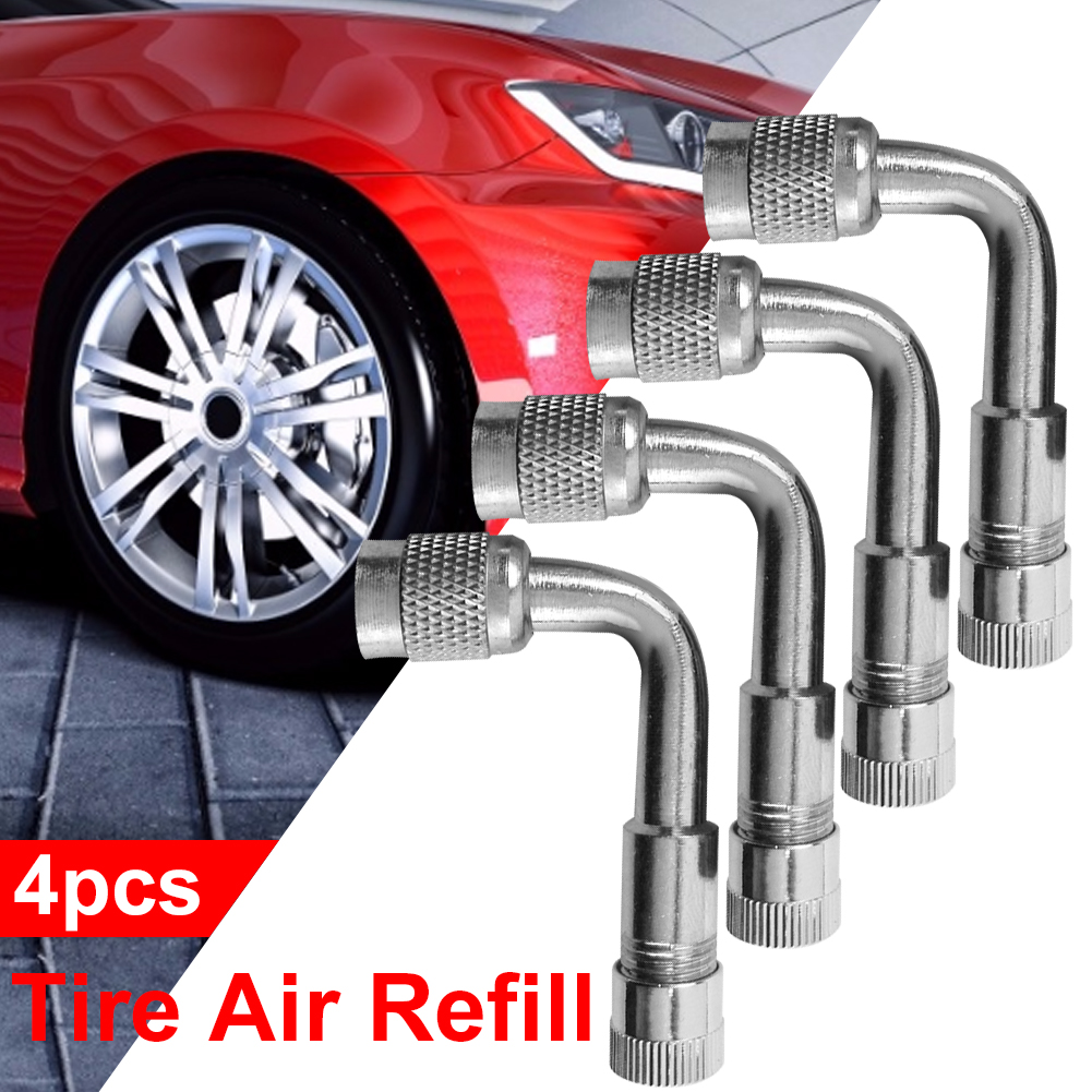 4 pack universal valve plugs for tires car auto motorcycle bike