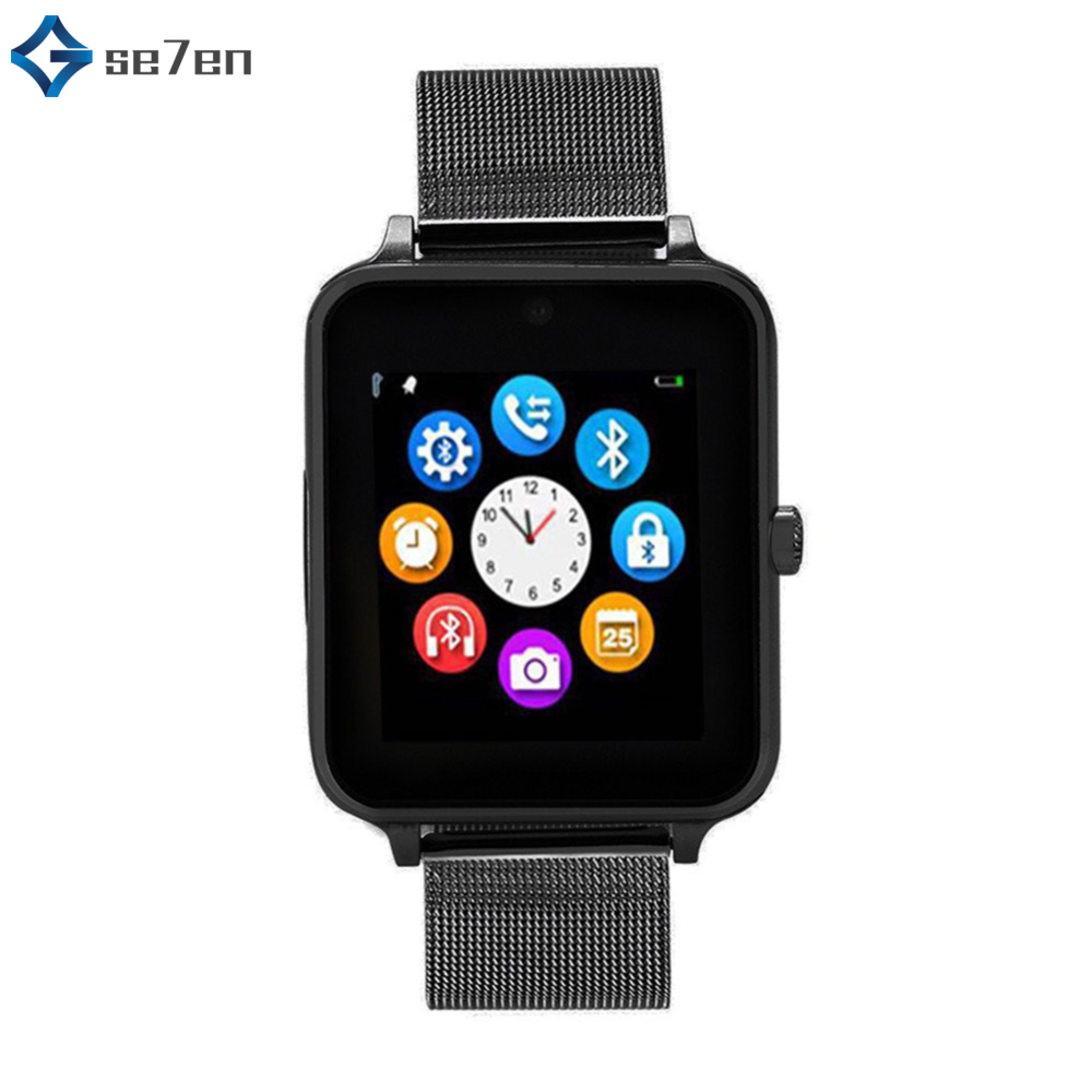 Smart Watch Sim Push Message Bluetooth Android IOS Z60 Phone Watch Men's And Women's Sports Smart Watch For IPhone Xiaomi Huawei