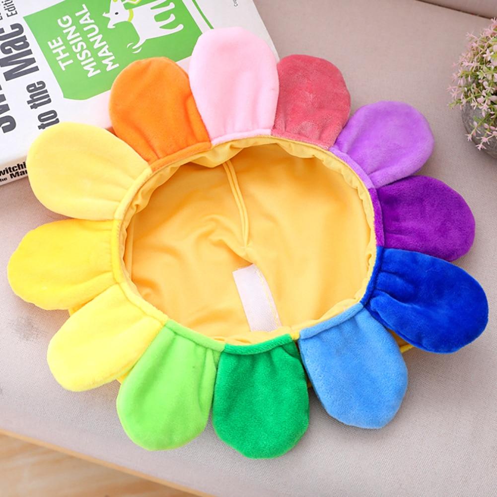 Creative Sun Flower Headgear Staffed Soft Cap Funny Plush Toys For Kids Girls Lovely Christmas Gift Party Dolls
