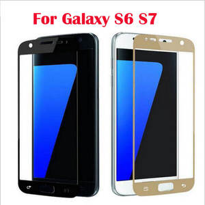Screen-Protector Guard Tempered-Glass-Film A50 A70 Surface Full-Cover S7 S6 Samsung Galaxy