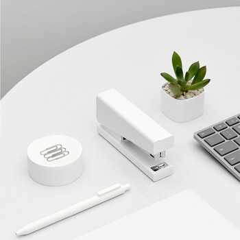 New Xiaomi Mijia Kaco LEMO Stapler With 24/6 100pcs Staples Stapling Machine For Stationery Office Accessories School Supplies
