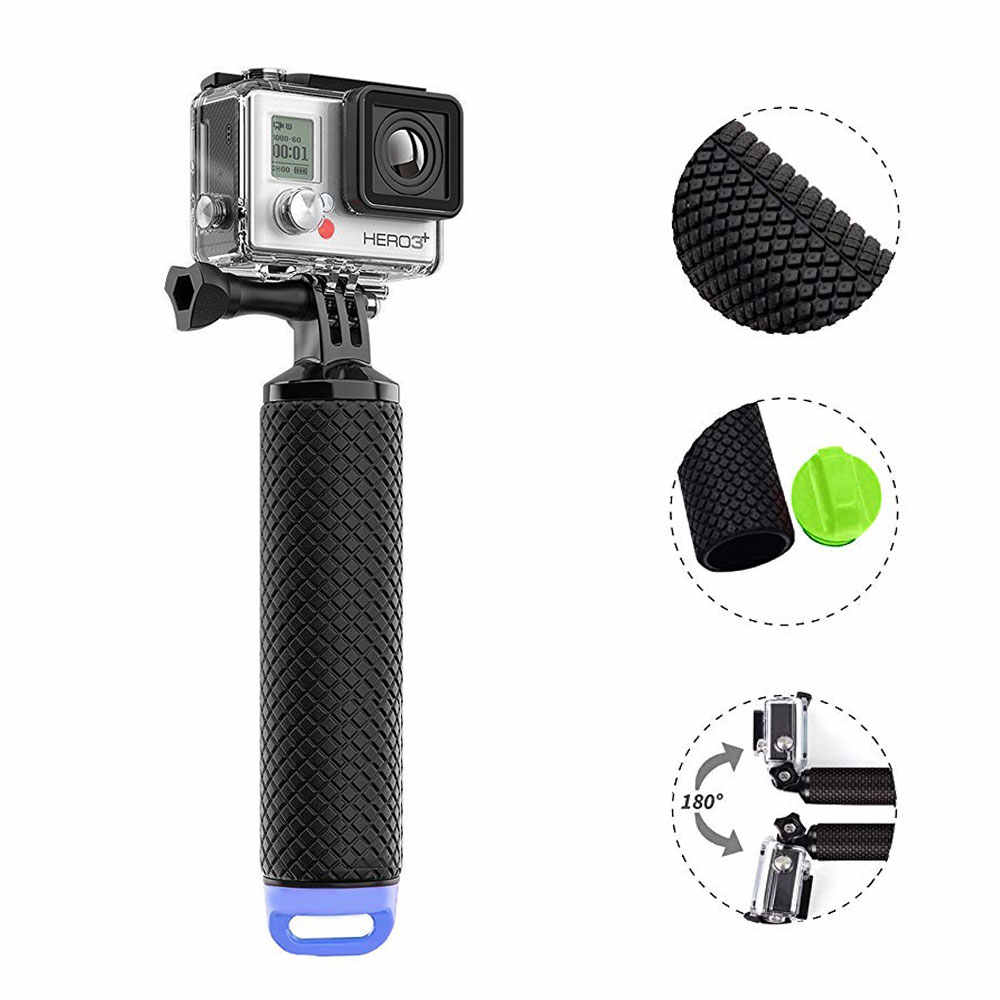 Sport Action Camera Bobber Float Hand Grip for Gopro Pole Handheld Stick for Go Pro Hero 7 6 5 4 monopod for Yi 4K SJ4000 SJ5000