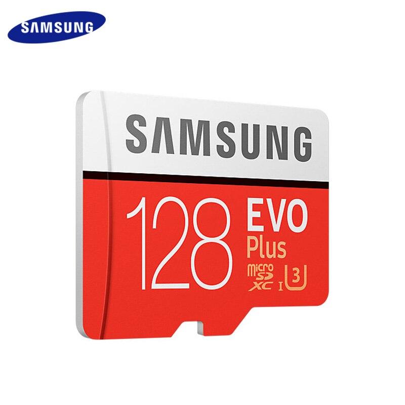 SAMSUNG EVO PLUS Memory Card 256GB High Speed 100 MB/S Micro SD Class 10 U3 TF Cards UHS-I 128G 64GB 32GB Micro SD Card 6