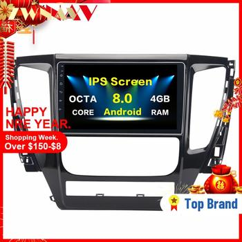 10.2 Inch Android 8.0 Car GPS Player Navi for Mitsubishi Pajero Sport 2017 with 4G+32G Octa 8 Core No DVD Radio Multimedia HDMI image