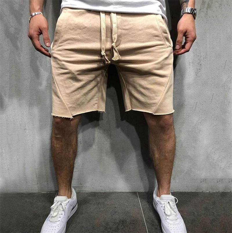 2019 New Loose Cargo Shorts Men Cool Summer Short Pants Homme Cargo Shorts Bermuda Masculina Modis Streetwear Casual Shorts