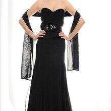 Под заказ vestido de festa renda robe de soiree черные длинные вечерние платья вечерние элегантные платья для матери невесты