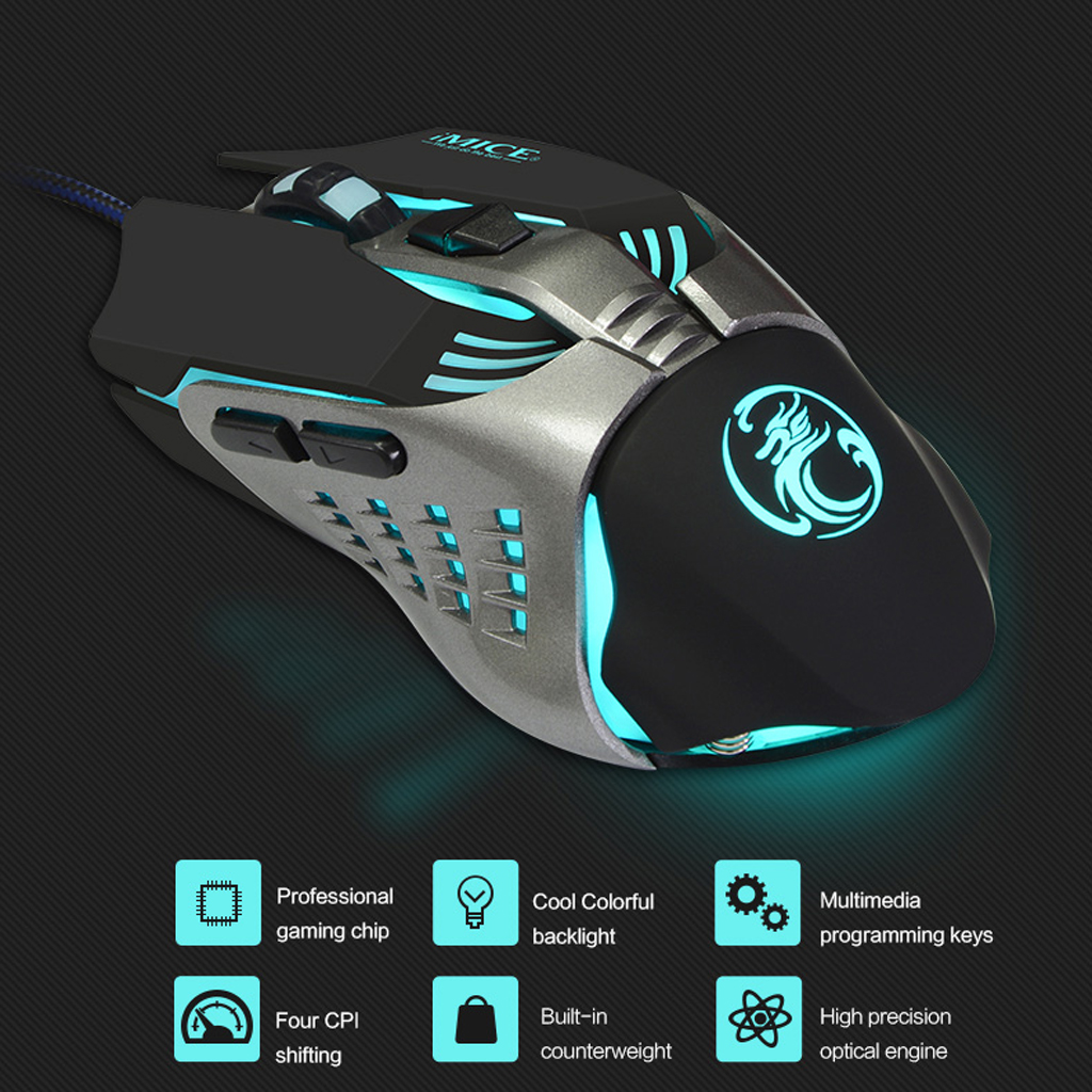 2019 New Wired Gaming Gamer Keyboard And Mouse Set Combo For PC Laptop Computer Desktop Gaming keyboard and Mouse with backlight