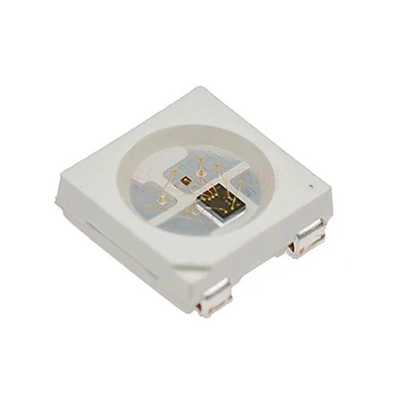 1000PCS/LOT WS2812B Light Bead 5 V 5050 Built-in IC RGB 4 Foot LED Slide Bead