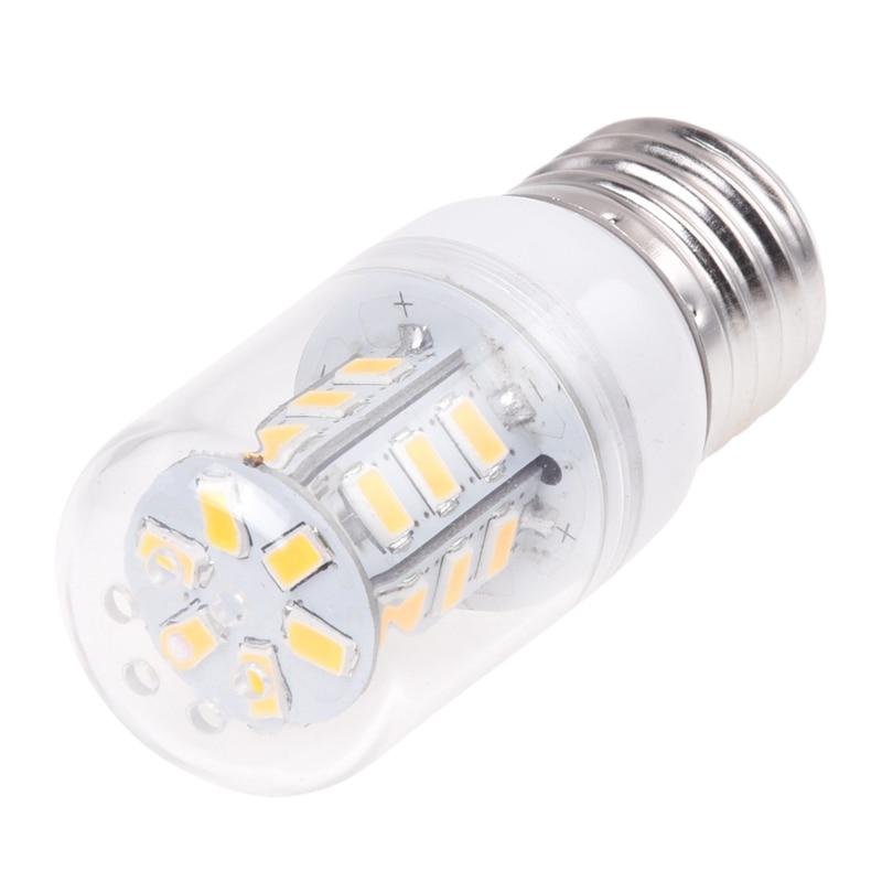 3W E27 5630 SMD LED Bulb Corn Spot Light Lamp Warm White 270LM AC100-240V =15W