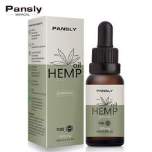 Pansly 10ml Essential Oil Organic Hemp Seed Body Sleep Aid A