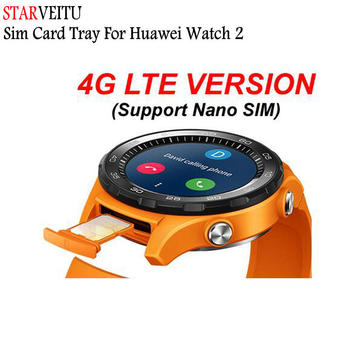 For Huawei Watch 2 Sim Card Tray For 4G Lite Version Sim Card Holder Support 2018 Version Sim Card Slot