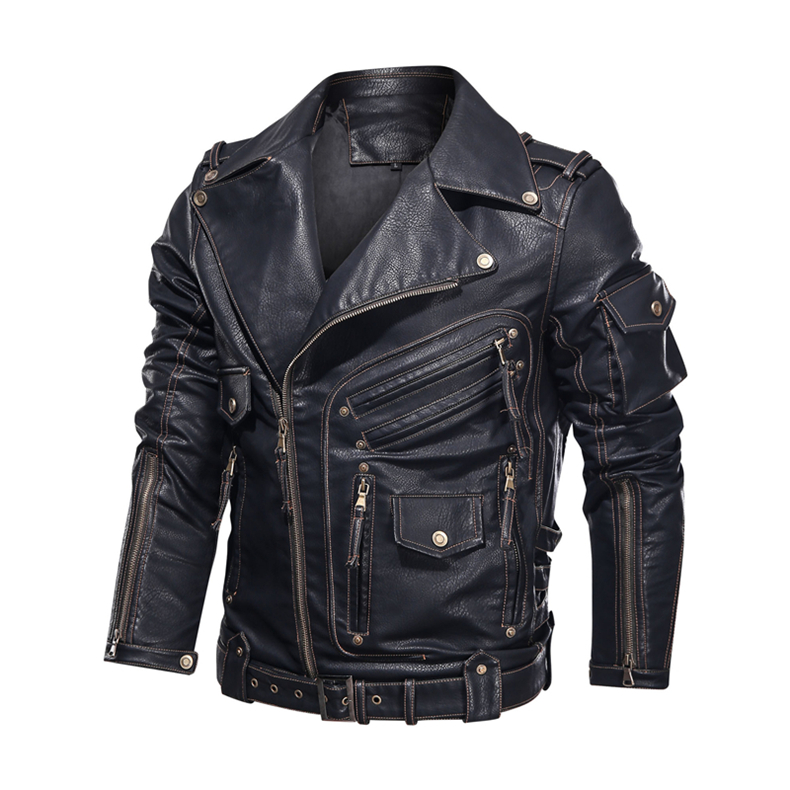 mens pu leather jacket01