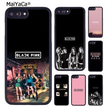 MaiYaCa KPOP BLACKPINK LOGO Phone Case Cover For iPhone 5 6S 7 8 plus 11 Pro X XR XS Max Samsung Galaxy S6 S7 S8 S9 S10 plus(China)