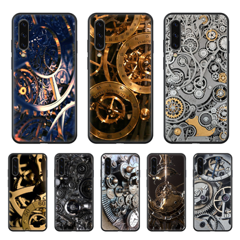 Net Red Mechanical Technology Phone case hull For Samsung Galaxy A 50 51 20 71 70 40 30 10 E 4G S black funda art shell 3D coque image