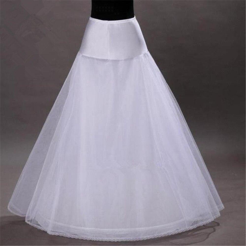 A-line Underskirt One Hoop Wedding Petticoat Accessories Crinoline For Wedding Dresses
