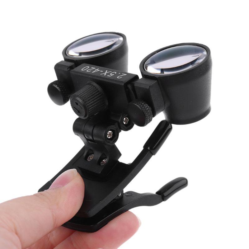 Tools : Dental Loupes 2 5X 3 5X Magnification Galilean Binocular Magnifier Dentistry Optical Glass Lens Dentist