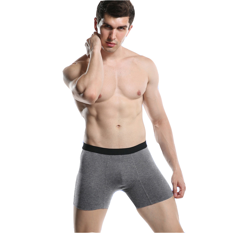 New <font><b>Cotton</b></font> Men Underwear <font><b>Boxers</b></font> Long Leg <font><b>Short</b></font> <font><b>Boxer</b></font> <font><b>Homme</b></font> Panties Calzoncillos Men's Boxershorts Man S-XXL Europe size image