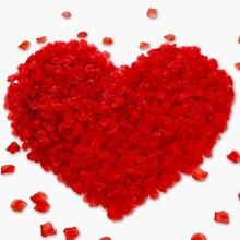 100/200/500/2000 peças pétalas de rosa artificiais pétalas de seda de flor artificial para o dia dos namorados decoração de flor de casamento