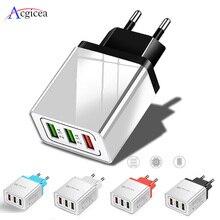 Evrensel 18W USB şarj cihazı hızlı şarj 3.0 5V 3A şarj için iphone 7 8 ab abd Plug cep telefon hızlı şarj Samsung