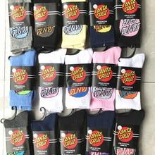 Носки Санта Круз, хип-хоп, откидной скейтборд, носки calcetines, компрессионные, Канье, west popsocket