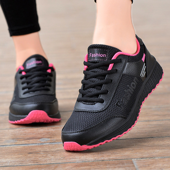 Women Casual Vulcanized Sneakers Shoes Comfortable Breathable Flat Female Walking Shallow Sport Run zapatos de mujer