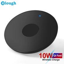 Беспроводное зарядное устройство elough 10 Вт qi для iphone