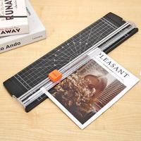 Cortador de papel portátil plástico base escritório casa papelaria faca a5/a4 lâmina corte cartão arte aparador artesanato ferramentas