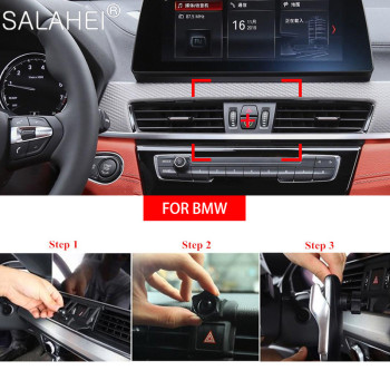 Hot Sale Car Mobile Phone Holder For BMW X1 X2 X3 X4 X5 X6 X7 G01 G02 F48 F39 2014-2018 Smartphone Bracket Special Mount Support image